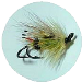Salmon Fly Green Highlander